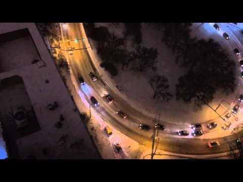 Traffic snarled in Edmonton