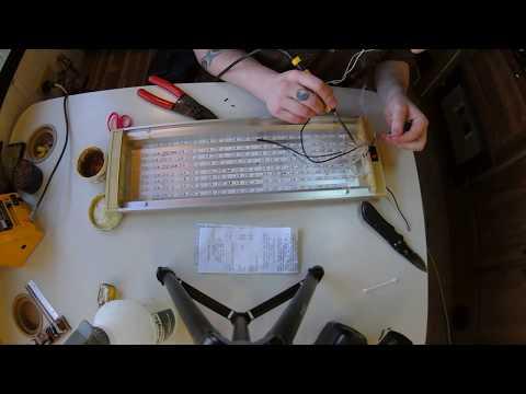 Motorhome / Rv Living Light Upgrades, (Converting Fluorescent Lights to L.E.D.)