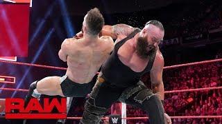Braun Strowman vs. Finn Bálor: Raw, May 21, 2018