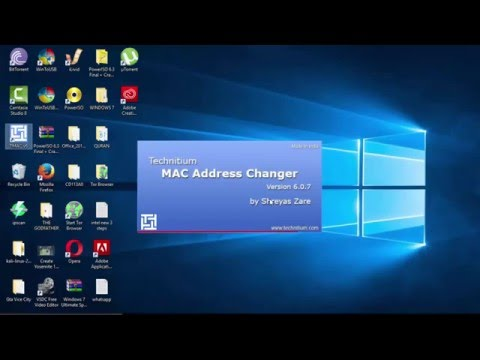 HOW TO CHANGE MAC ADDRESS (DOWNLOAD LINK IN DESCRIPTION)