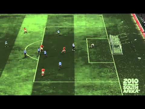FIFA World Cup Tourney - England 3-0 Uruguay AET - Goal #3