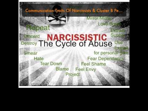 Communication Traits Of Narcissists & Cluster B Personality Disordered People