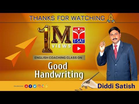 ENGLISH      English - Good Handwriting - P2    Diddi Sathish