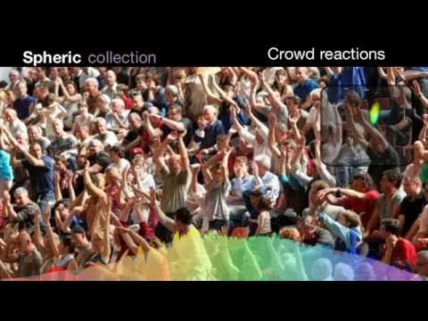 Large Crowd Reactions Ambisonics Sound Effects Library