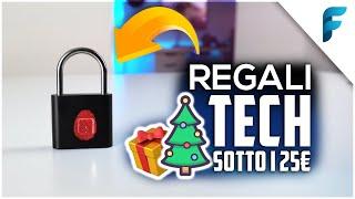 Migliori Gadget TECH sotto i 25€ - Idee Regalo per Natale!