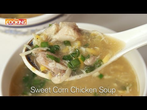 Sweet Corn Chicken Soup | Non-veg Soup | Ventuno Home Cooking