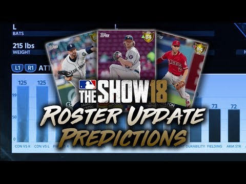 June 8th Roster Update Predictions! MLB The Show 18 Diamond Dynasty