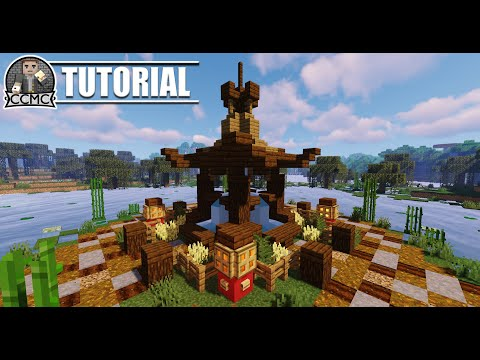 Awesome Oriental Fountain Chinese Japanese Minecraft Tutorial Video