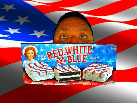 Little Debbie® Memorial Day Red, White and Blue Cakes REVIEW!