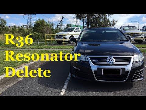 Volkswagen Passat R36 Resonator Delete