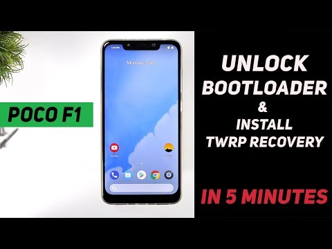 Poco F1 - How to Unlock Bootloader & Install TWRP Recovery (IN JUST 5  MINUTES)