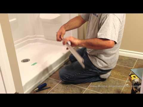 How To Install Glass Sliding Shower Doors