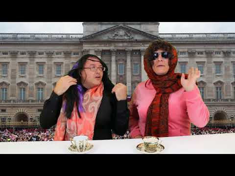 Two Crazy Old English Ladies Talk Royal Wedding: Prince Harry Meghan Markle May 19 2018