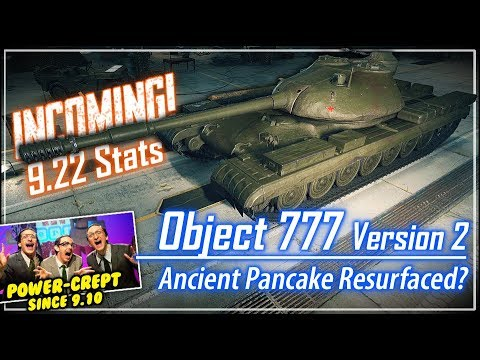 INCOMING! Object 777 Version 2 Stats* || World of Tanks
