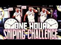 1 HOUR SNIPING CHALLENGE IN NBA 2K19 MY TEAM MULTIPLE PINK DIAMOND SNIPES