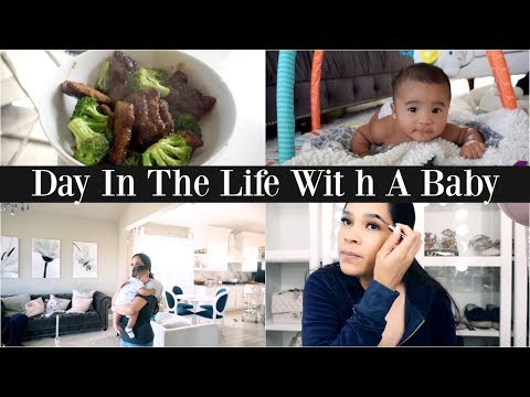 A Day In My Life With A New Baby!👶🏻  First Time Leaving The House Alone! 😱MissLizHeart