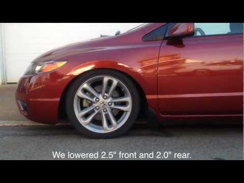 06-11 Honda Civic Yonaka Coilover Suspension Install