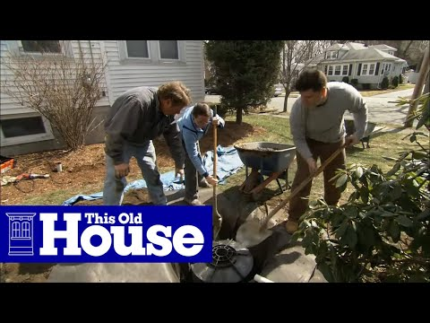 How to Install a Dry Well for a Sump Pump - This Old House