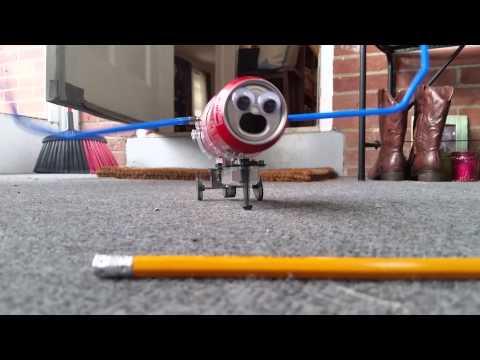Tyler's Tin Can Robot Movie