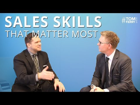 Sales Skills That Matter Most for Real Estate Professionals   #TomFerryShow Episode 55