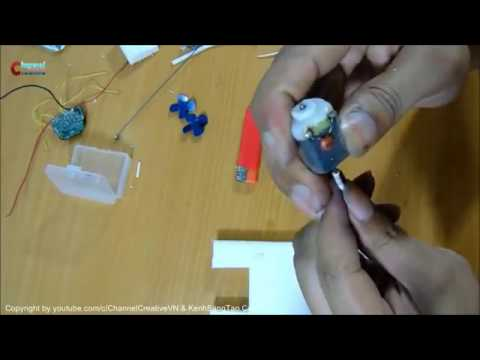 How to Make an Electric Boat WITH REMOTE CONTROL   Hovercraft   Easy Way  641 BY creativity entertai