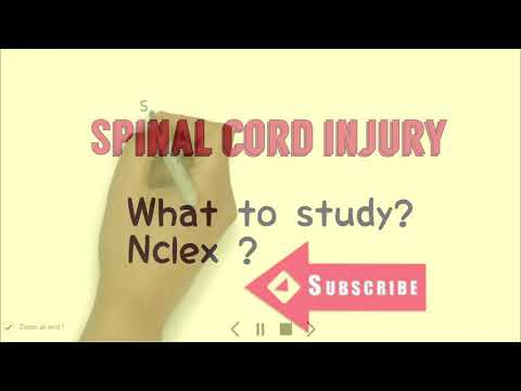 NCLEX / SPINAL CORD INJURY / FREQUENTLY ASKED QUESTION /
