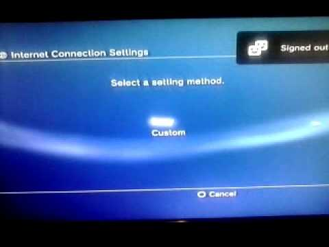How you really get internet for ps3 wireless easy