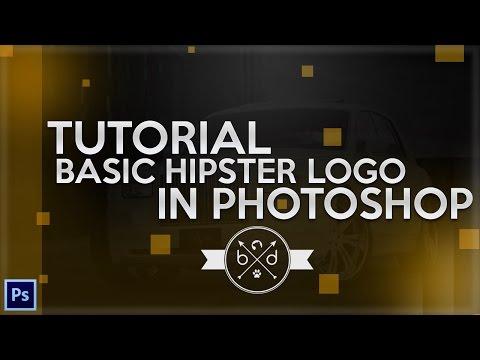 Tutorial: Basic Circle/X Hipster Logo (Photoshop CC) - Behr