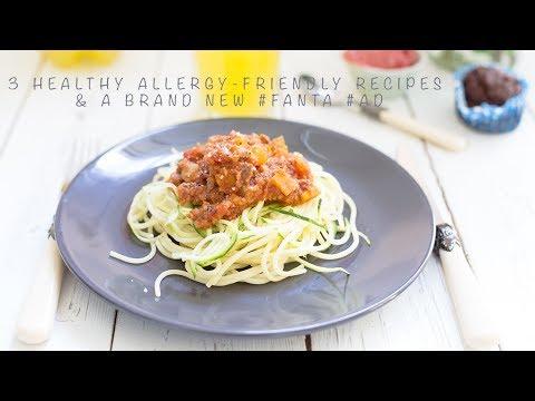 3 Healthy Allergy-friendly Recipes & a Brand New #Fanta #ad