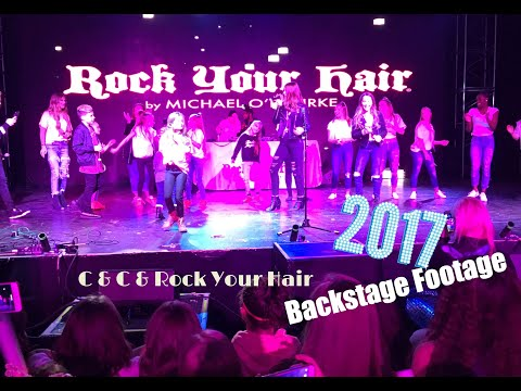 Rock Your Hair Concert Backstage Footage- Smith Family Circus