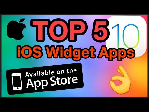 TOP 5 BEST IOS 10 WIDGET APPS - Whats the Best Widget App for iOS? - Best Free Widget Apps