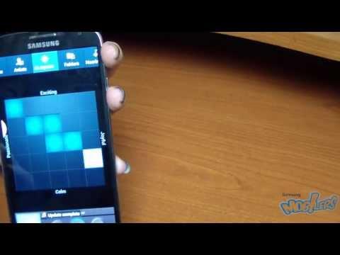 Samsung Galaxy S4 - Music Player