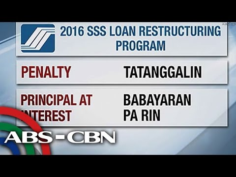 TV Patrol: Loan restructuring program, inilunsad ng SSS