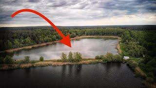 Alter verlassener See nur für uns ALLEIN ist VOLL mit FISCH ! (Angler-Traum)