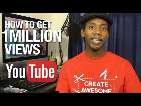 How To Get 1 Million Views on  Your YouTube Channel [MATH]