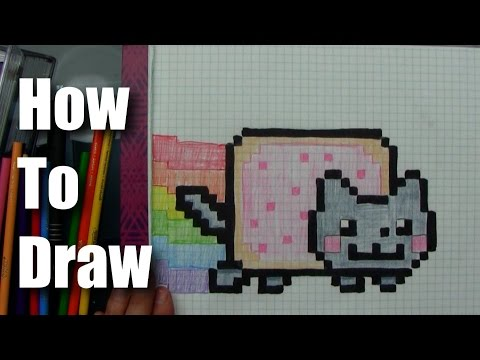 How To Draw - Nyan Cat!