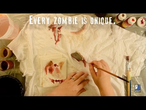 DIY Zombie Dirt & Splatter Tutorial