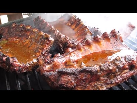 Grilled Baby Back BEER Ribs!