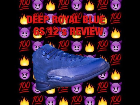 GS Jordan 12 Blue Suede Review!!!!!!!!! New Pickups!!! And Ultra Protection Spray Test!!!!!