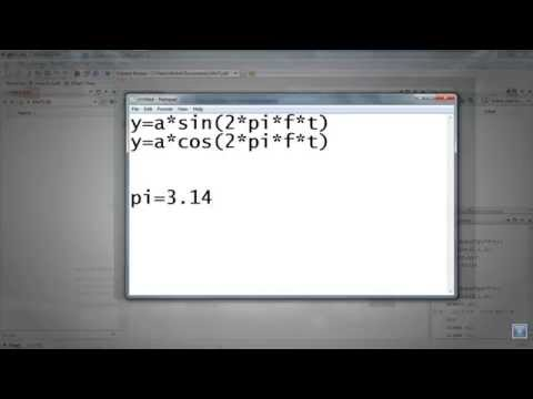 MATLAB-Generation of Continuous Sine and Cosine Waves Using Matlab