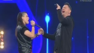 The Voice | Billie Isaak vs Αλέξανδρος Μαυρομάτης  | 2o Battle