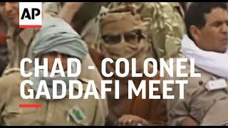 Chad - Colonel Gaddafi meet