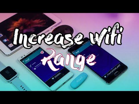 How To Increase WiFi Range Upto Infinite Kilometers!