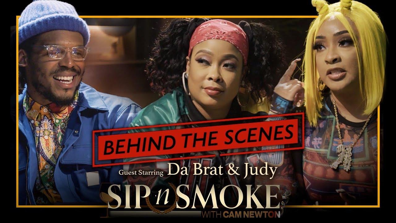 Da Brat & Judy Visit My Lounge #BTS Sip n Smoke With Cam Newton