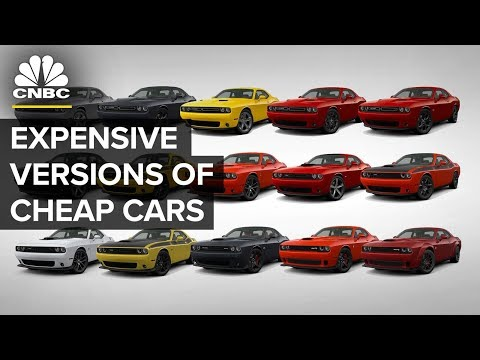 How Automakers Sell Expensive Versions Of Cheap Cars | CNBC