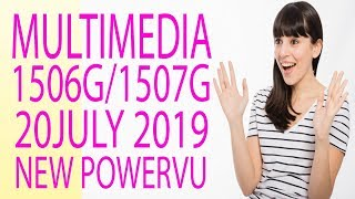 MULTIMEDIA 1507G NEW POWERVU SOFTWARE BY USB IN 1506G