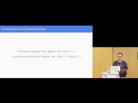 Droidcon NYC 2016 - Advanced Data Binding in Practice