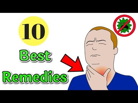 10 Best Natural Remedies For Sore Throats | How To Cure Sore Throats Naturally