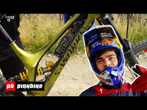 Loic Bruni's Specialized Demo Bike Check 2018