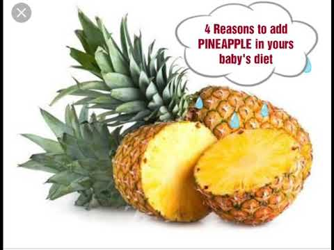 Benefits Of Pineapple For Kids|Baby Food|Starting From 12 Months|Kids Food Recepies
